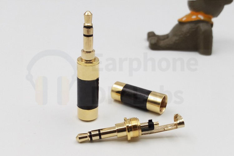6N OCC Earphone Cable with 3.5mm plug